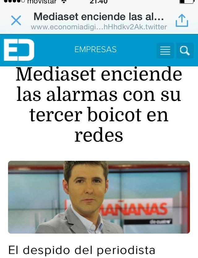Mediaset con Telecirco mucha tele basura es #BoicotAnunciantesMediaset http://t.co/kbSK15tCPj