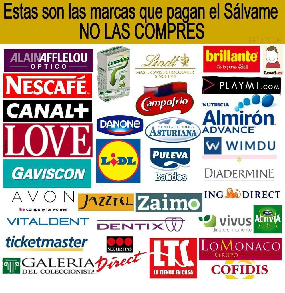 TODOS CONTRA LA CENSURA Y LA TELEBASURA  NO LES COMPRES #BoicotAnunciantesMediaset http://t.co/lNNz1jGc8c