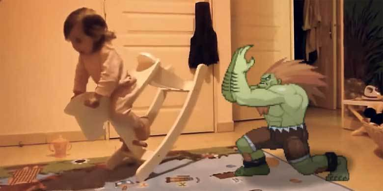 It's Time To Watch 'Street Fighter II' Characters Hilariously Troll The Real World http://t.co/kvjbl3frc8 http://t.co/gt1zsTWEoj