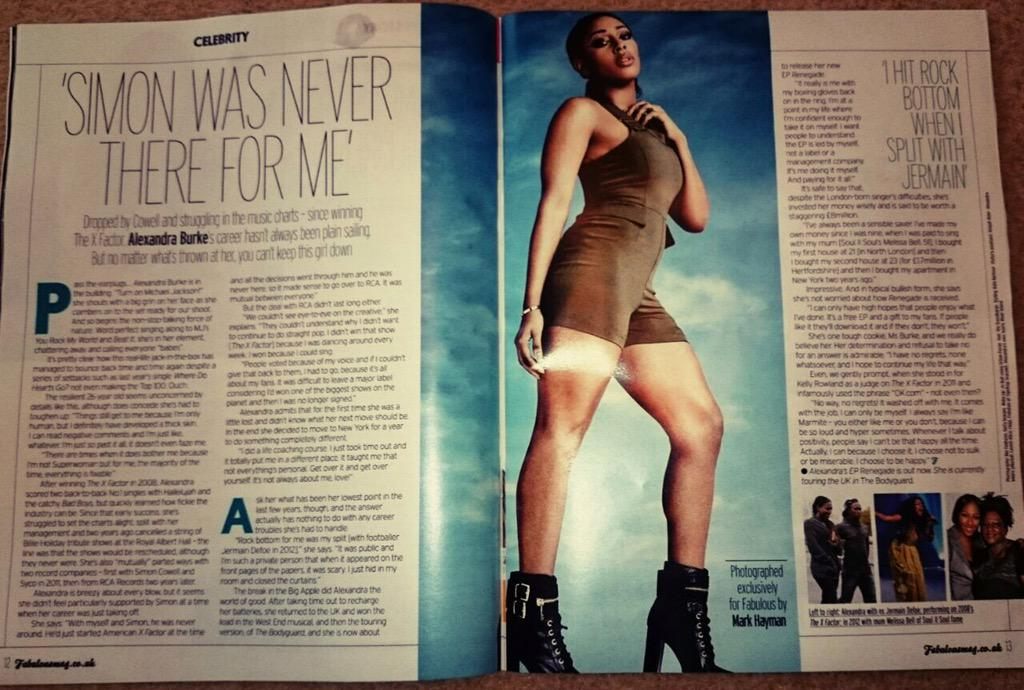 Read the full article here !! Out today ! @Fabulousmag http://t.co/T7YVHZCqaj http://t.co/82KJFEduL7