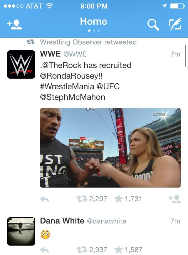 So this is pretty amazing twitter feed synergy. @danawhite @WONF4W @davemeltzerWON @bryanalvarez http://t.co/NhjUDJQ164