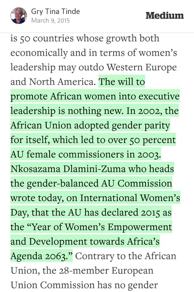 """Gry Tina Tinde on Twitter: """"Hi @UNDP #African #women lead the way ..."""