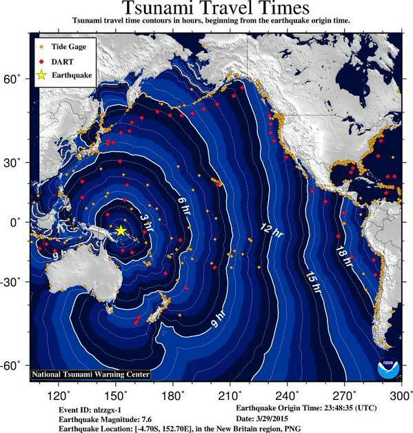 Terremoto Papua Nuova Guinea Oggi: Allarme tsunami per coste di Australia e Indonesia