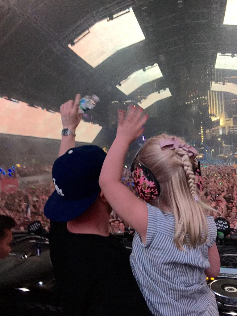 Me and Leja rocking the #ASOTMIA stage ❤️  Thank you all so much for the amazing feedback! http://t.co/rFiAD4D6PR