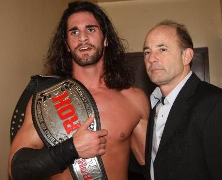A dream come true ROH is proud @WWERollins @ROHDelirious @AdamColePro @BushwhackerLuke @sinclairtodd http://t.co/A24LvuGXpx