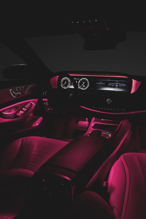 Luxury goals on twitter lit for Mercedes benz glowing star