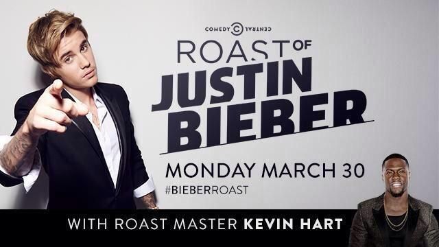 GET READY! #BieberRoast airs tomorrow at 10ET/9C on @ComedyCentral