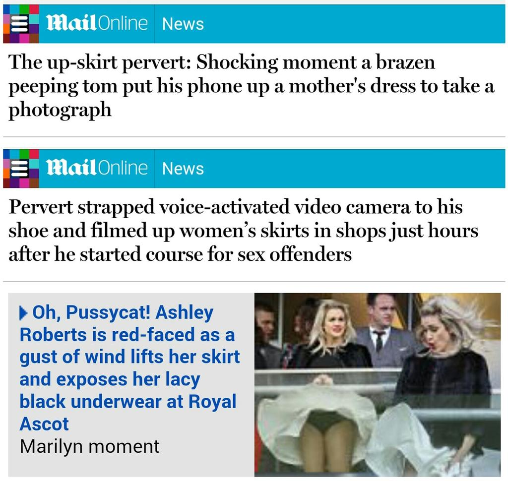 Bloody perverts hey, Daily Mail? - http://t.co/PDw6OAZwbQ