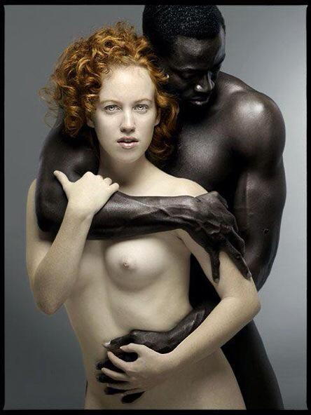 Erotic inneracial couples
