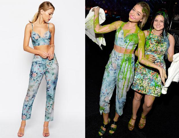 You can buy Sarah Hyland's flower print #KidsChoiceAwards look sans slime from @ASOS http://t.co/oIYTBFvJmO http://t.co/yDA3L6BOfH