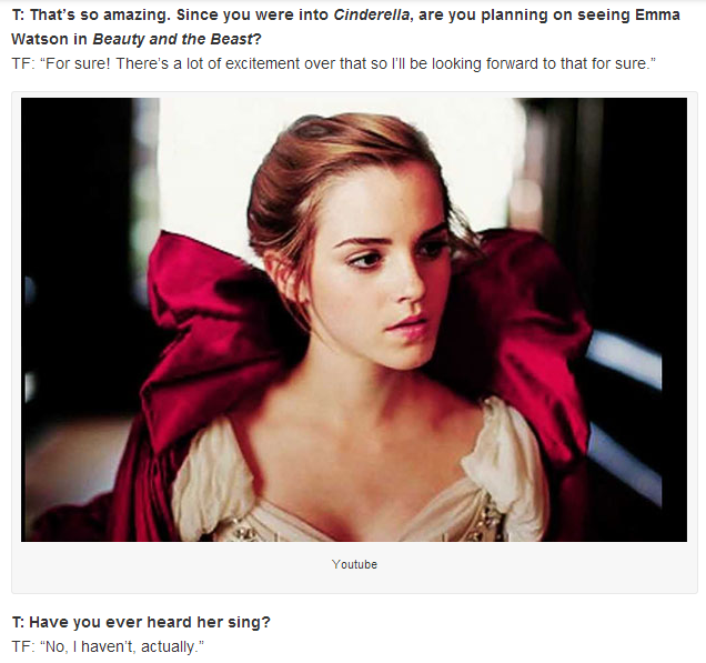 Tom Felton Talks About Emma Watsons Beauty And The Beast See Full Interview Here