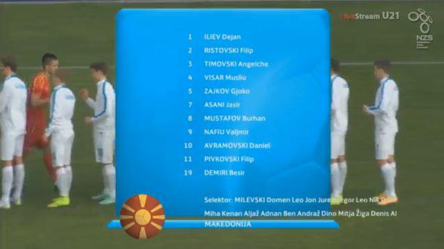 Macedonia's starters