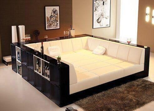 "Built In Couch the wine guys on twitter: ""what a set up. a bed couch with in"