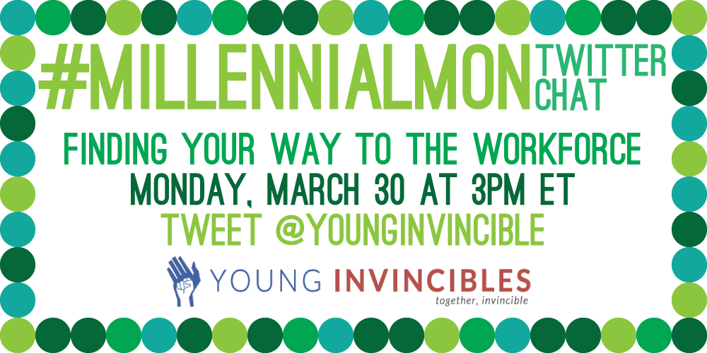 TODAY for #MillennialMon: Finding Your Way To The Workforce. Join us at 3PM ET/12PM PT! #HigherEd #WorkforceDev http://t.co/FcnbmC8c8u