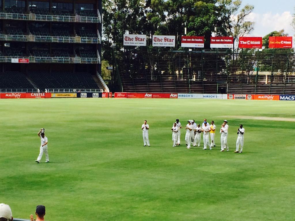 """@warrendugmore: Neil Macs fitting goodbye from 1st Class cricket @KerryMcGregor. True Gentleman &legend of the game http://t.co/XIv3fnQTla"""