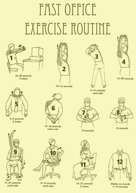pijn in nek en schouder oefeningen