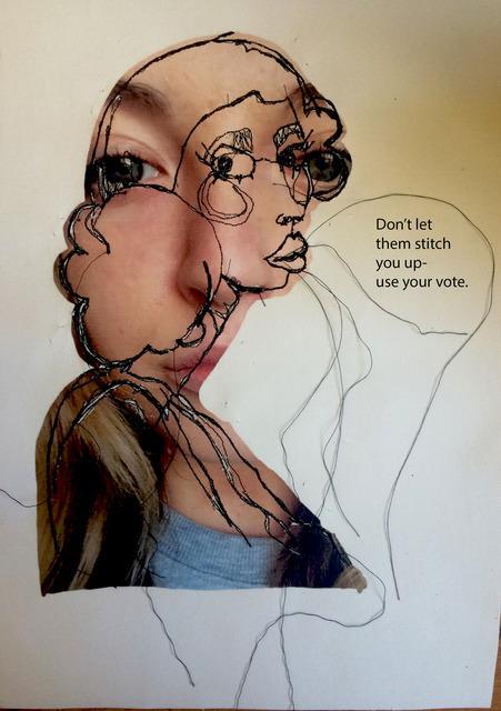 Are you an art student? Share your alternative election poster https://t.co/KJyHYUvJ5t This by Katy Bennett @UEL_News http://t.co/d7WegJr754