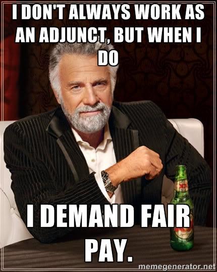 Fair Pay for Adjuncts #adjunctlife #adjunctchat #FacultyFor15K #AdjunctTruth http://t.co/TdE1xstxHG