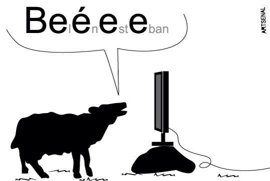 Beeeeeee!! Belén Esteban. Genial @ARTSENALJH  #BoicotAnunciantesMediaset http://t.co/1vk5hky9bK