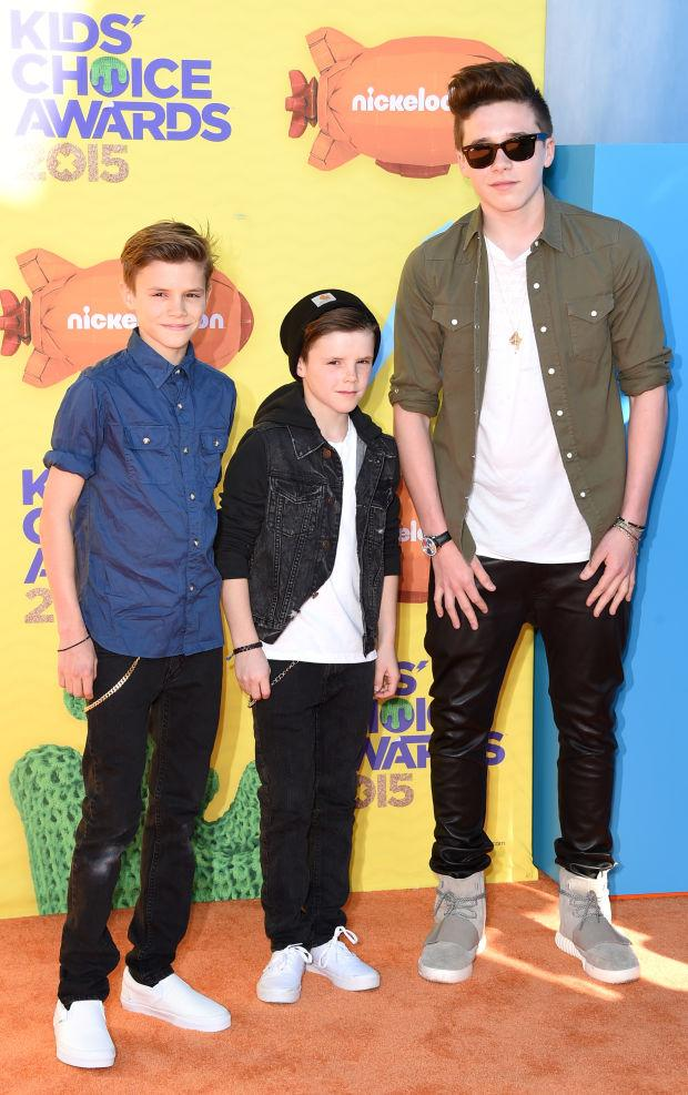The younger Beckhams' personal style choices are on point: http://t.co/hXPzUqAgtQ http://t.co/asiIQpRi6l