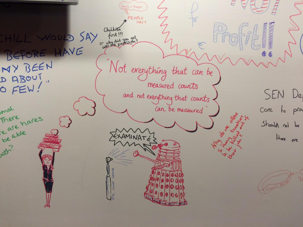 I couldn't resist it. ATL verses the govt Dalek. On the wall at #atlconf2015 http://t.co/Dc3ln70qIi