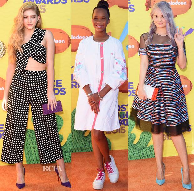2015 #NickelodeonKidsChoiceAwards  Red Carpet Roundup http://t.co/zDCQ4B9Poz http://t.co/EZDABKAM52