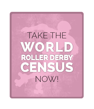 Be counted in the 1st #rollerderby Census. Anyone w any derby affiliation should participate! http://t.co/wJYQJCf3Ii http://t.co/4u9SZHjZuC