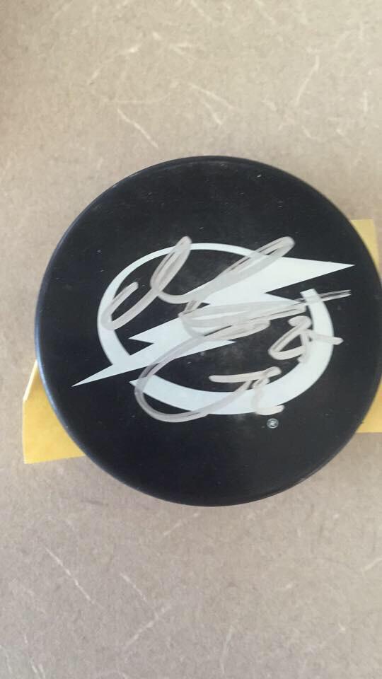 @BoltsRadio just got my signed Matt Carle puck today, you guys rock! #bolts #Lightning @TBLightning http://t.co/R7U6g1tTRn