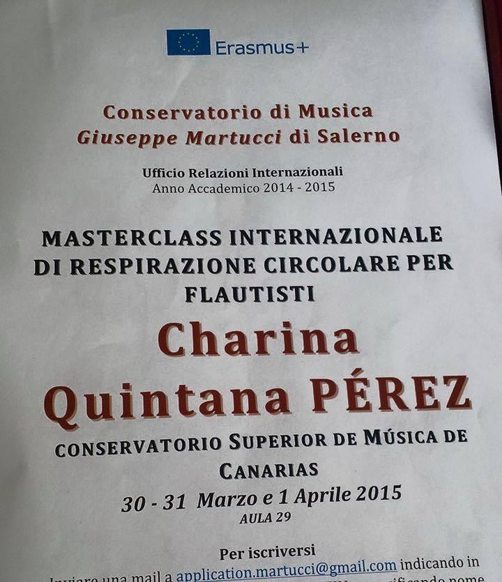 Csmc On Twitter La Profesora De Flauta Del At Csmcanarias Csmcgc