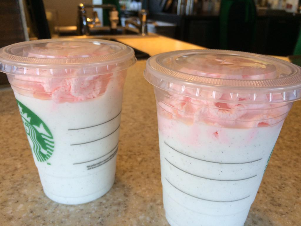 Frank Murphy On Twitter Last Day Of Birthday Cake Frappuccino 1 2
