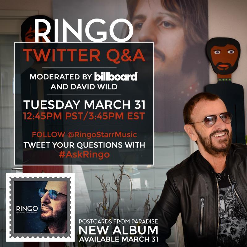 The Beatles Polska: Zadaj pytanie Ringo w ramach #AskRingo