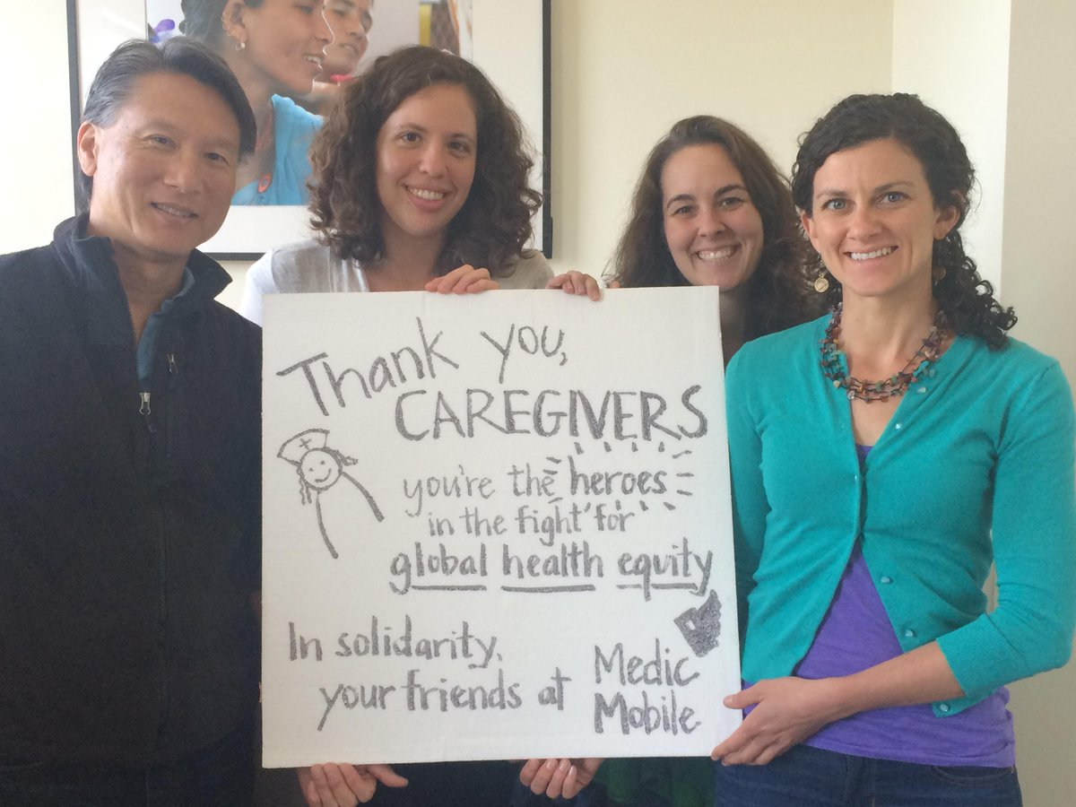Caregivers & health workers are the heroes in the fight for global health equity. Loving the #campaignforcaregivers! http://t.co/MsiWsAgf4T