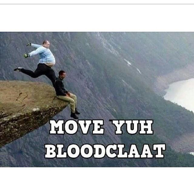 What does bloodclaat mean