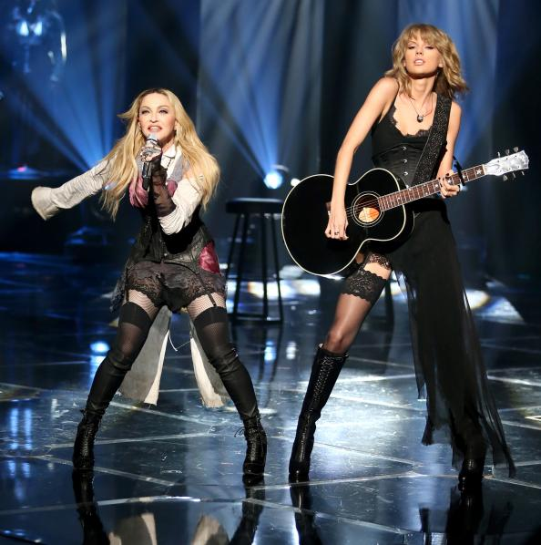 Madonna and Taylor Swift steal the show with their duet at the #iHeartRadioMusicAwards: http://t.co/WC0hkjlM3E http://t.co/YxqhSXxOAM