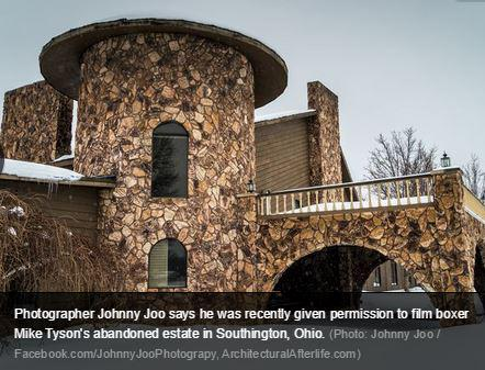 PHOTOS: Inside Mike Tyson's deserted Northeast Ohio mansion http://t.co/ghSsPGw75I (Photo: Johnny Joo) http://t.co/tGIpcjUPAT