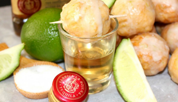 "For those of you who ❤️ carbs/alcohol, do enjoy this recipe for ""Tequila Shot Doughnut Holes"" http://t.co/uGTXQEQLir http://t.co/JLGZtOLG4H"