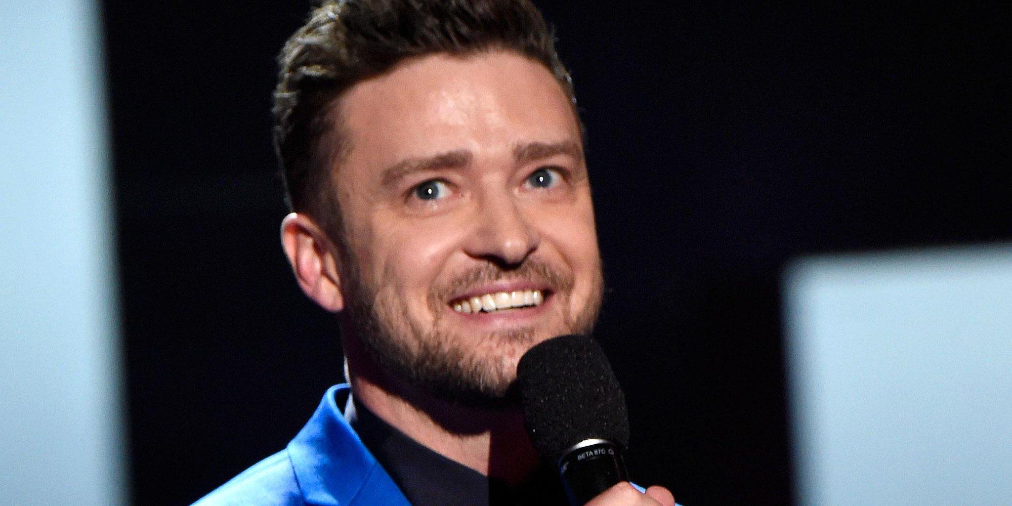 Justin Timberlake gave the CUTEST acceptance speech about Jessica Biel http://t.co/8wAI4g3bVS http://t.co/DpP9IqGHjG