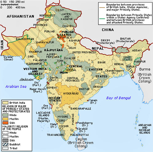 1947partitionarchive On Twitter Maps Of Southasia Before