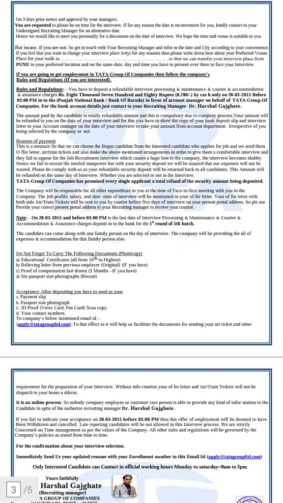 Shraddha Tandel tandelshraddha – Recruiting Manager Resume