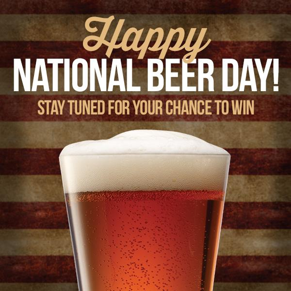 It may be early but we can't wait to celebrate #NationalBeerDay. #YNGBeerDay http://t.co/JBDAfsEQN8