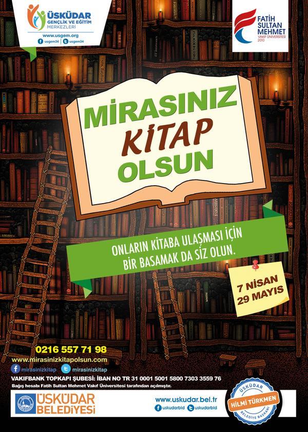 Kitap, hayatı okumaktır.   Onların hayatı okumaları için siz de bir kitap bağışlayın.  #mirasinizkitapolsun http://t.co/DnwVJ2lWpQ