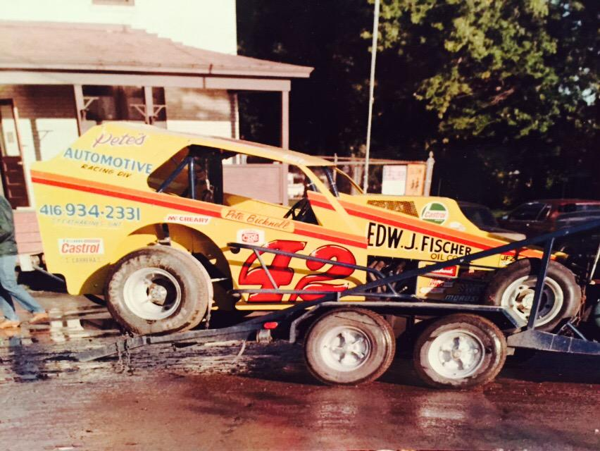 Race Car Deceased On Twitter Transporttuesday Pete Bicknell Mr