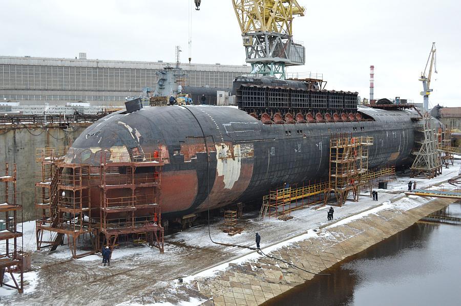 атомные лодки в северодвинске