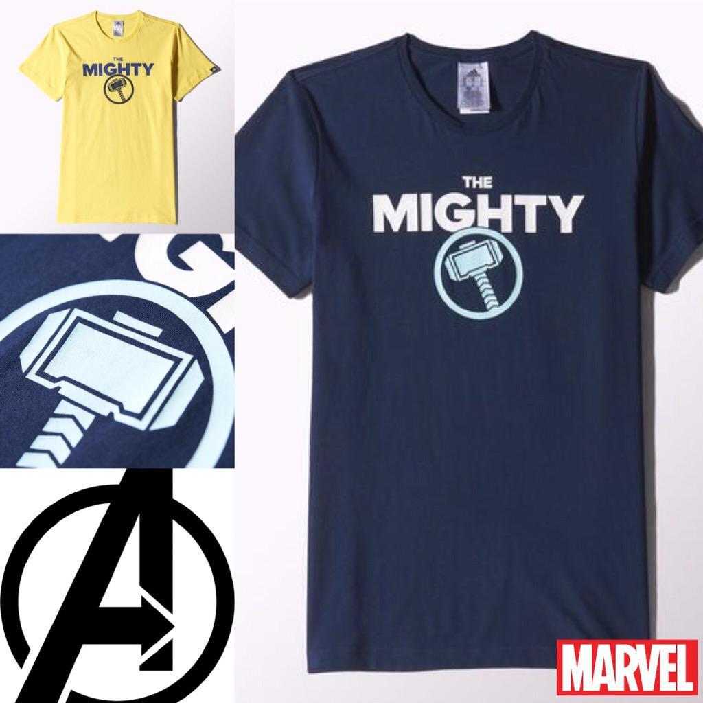 adidas t shirt avengers
