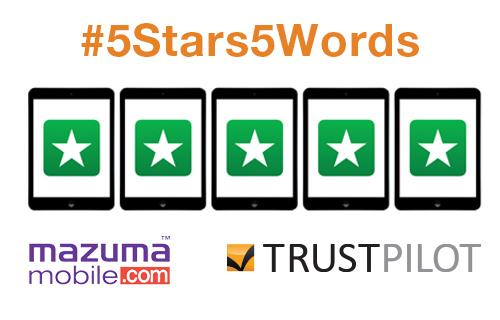 For a chance to #win an #iPad, review us in #5words. We have teamed up with @Trustpilot!  http://t.co/sJoY0Ea6mg http://t.co/Uau54WqyiA