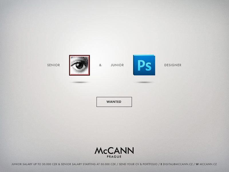 Se buscan profesionales que entiendan estos anuncios... McCann Prague busca profesionales http://t.co/vo9ok9C4qK