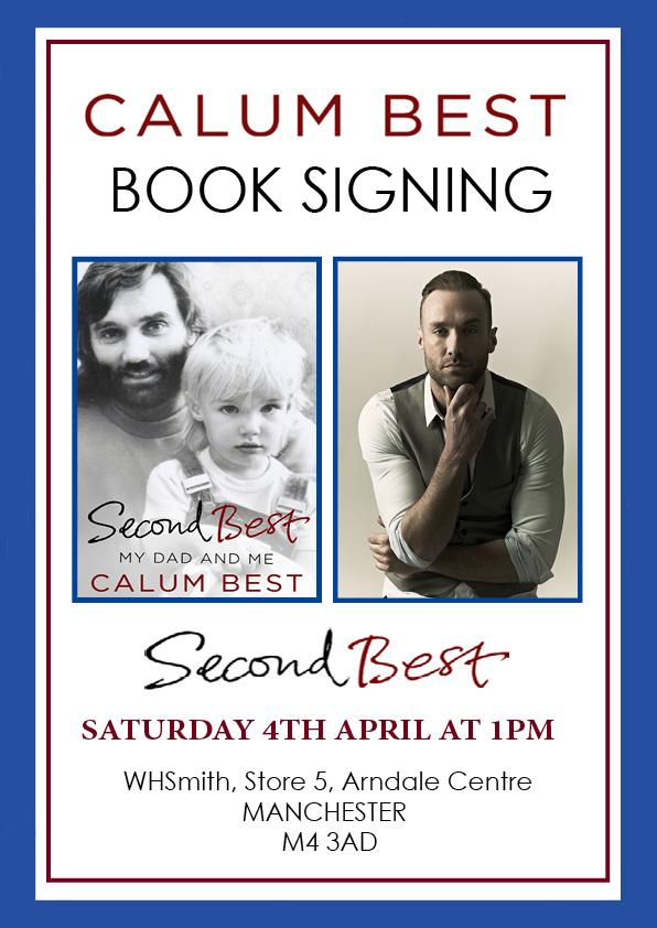 MANCHESTER GUYS & GALS, i will be signing copies of #SecondBest @WHSmith Arndale Centre, M4 3AD - THIS SAT! http://t.co/UyC0bIfY6G