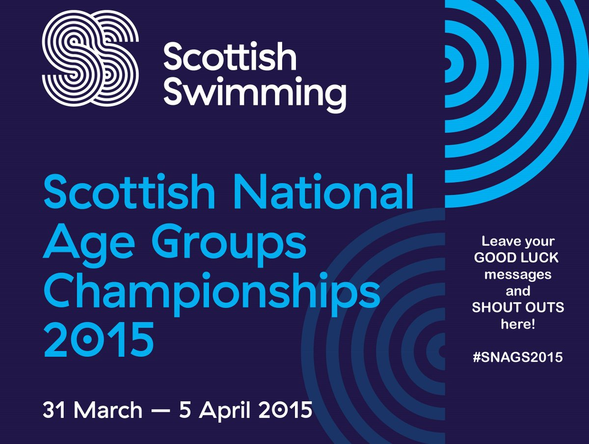 Scottish Swimming On Twitter Thank You For All Yr Good Luck
