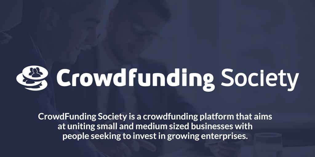 We are happy to announce the name of our new SME lending product: Crowdfunding Society @smelending http://t.co/XCcz54iVEe