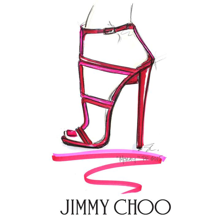 Think pink this #Shoesday with the #JimmyChoo MORAY sandal, coming soon for #PF15 http://t.co/QaQk0AoLSj http://t.co/RnucSzwXTz